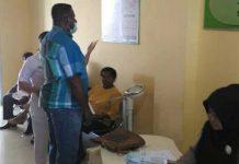 Dokter Ahli Periksa Calang KPU Wilayah 2 Papua Barat