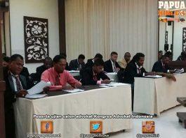 KAI Papua Barat Seleksi Calon Advokat