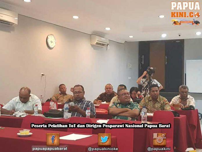 Ikut TOT dan Pelatihan Dirigen, 7 Daerah Tatap Pesparawi Nasional