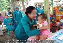 first lady Papua Barat Ny Yuliana Mandacan-Kiriweno