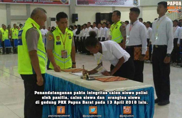 Kapolda Minta MRPB, LMA, DPR Saksikan Tes Kesjas Calon Bintara Polri Besok