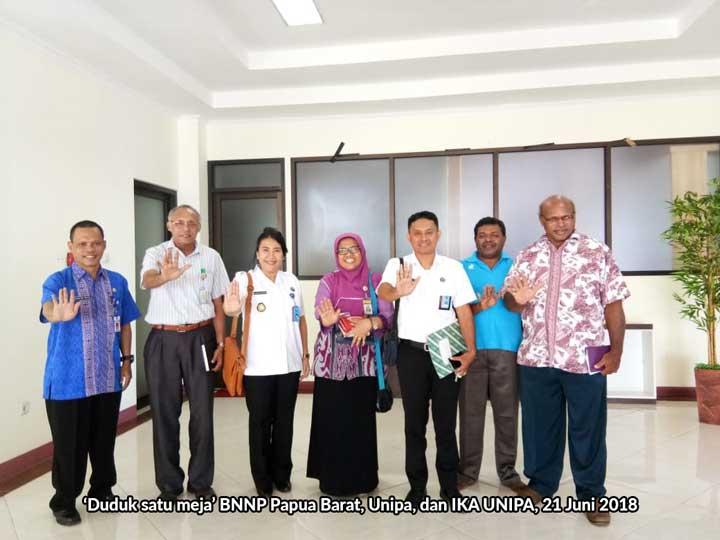 BNNP Papua Barat Harap Pemeriksaan Urine Juga Dilakukan Pada Dosen