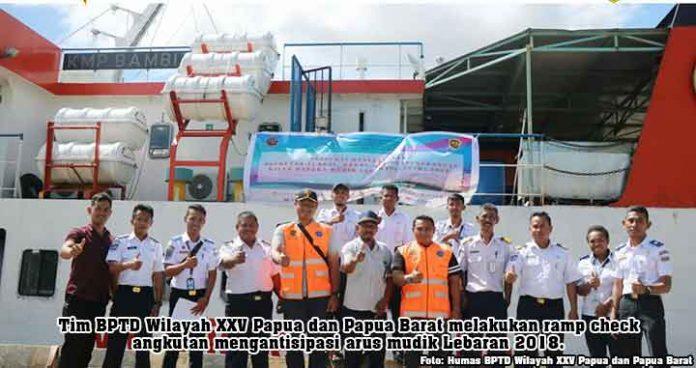 Antisipasi Mudik Lebaran BPTD Wilayah XXV Bangun 5 Posko di Papua dan Papua Barat