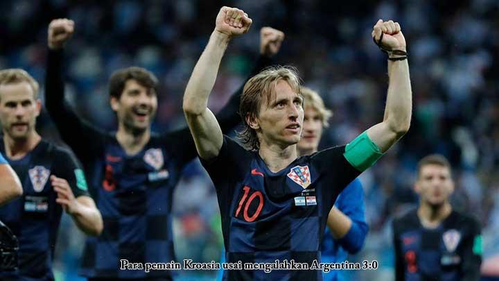 Kans Argentina Gawat, Kroasia Istirahatkan 8 Pemain Bintang