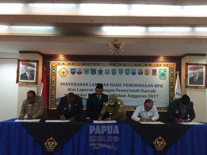 Sorsel, Fakfak, Bintuni WTP, Kota Sorong dan Mansel WDP