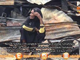 H-3 Lebaran, Nenek Soleha Kehilangan Tempat Tinggal Karena Kebakaran