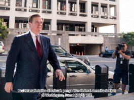 Mantan Ketua Tim Kampanye Donald Trump Dipenjara