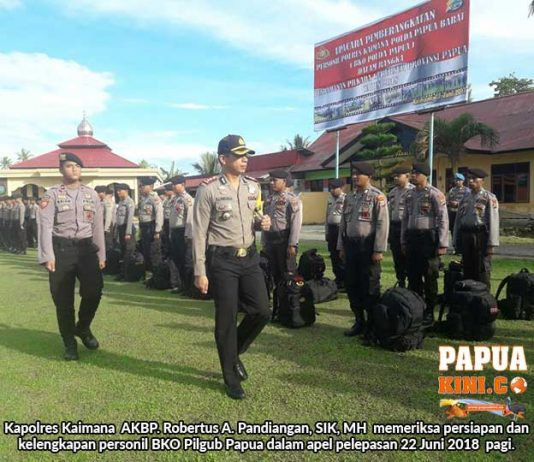 30 Personil BKO Kaimana Terbang ke Jayapura