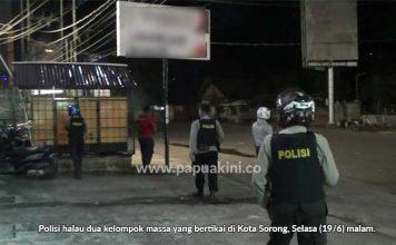 Dua Kelompok Warga di Sorong Saling Serang