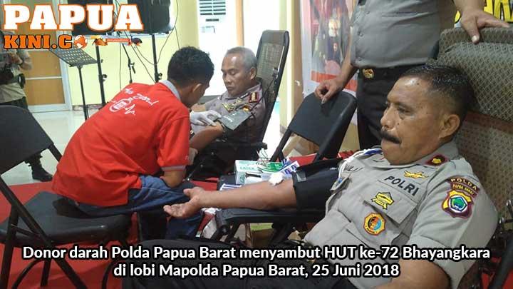Biddokes Target 200 Kantong Darah Jelang HUT 72 Bhayangkara