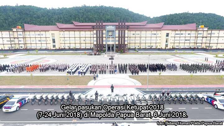 Operasi Ketupat, Polda Papua Barat Antisipasi Teroris dan Jalur Mudik