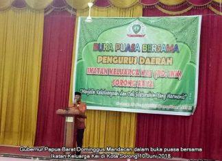 Gubernur: Semua Warga Harus Berkontribusi Bangun Papua Barat