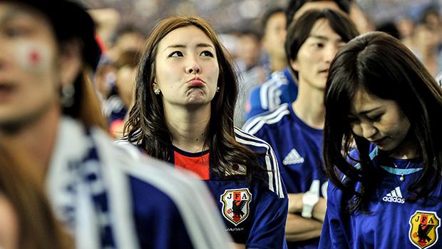Tonton Video Kelakuan Fans Jepang Usai Menang Lawan Kolombia