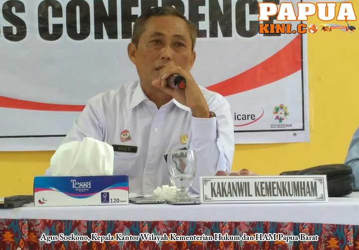 Di Jawa Over Pegawai, di Papua Barat Lapas Over Kapasitas