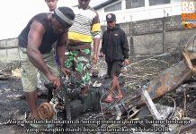 Belum Ada Penampungan Pasti Korban Kebakaran Sorong, Kodim Bangun Posko