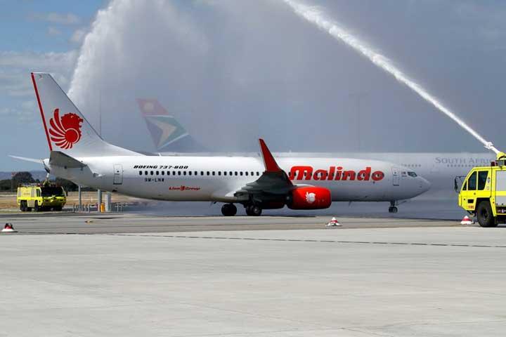 Melbourne Airport Rayakan Penerbangan Perdana Malindo Air ke Bali