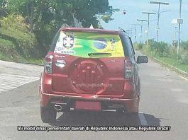 Gubernur Ingatkan Bendera Tim Piala Dunia Tak Dipasang Berlebihan