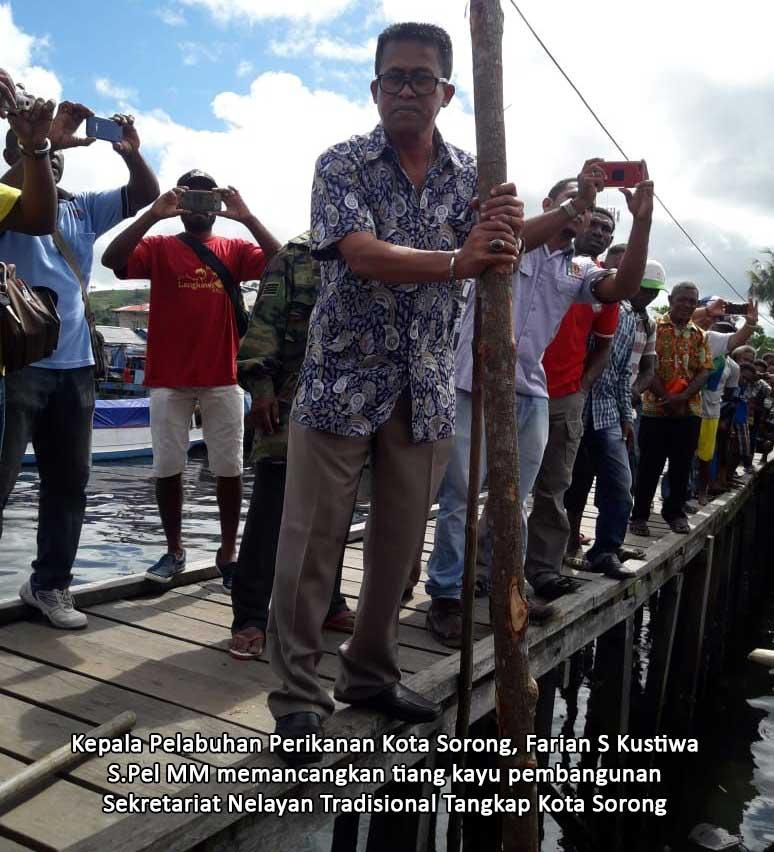 KPP Kota Sorong Bangun Kantor Sekertariat Nelayan Tradisional