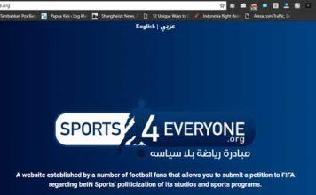 Saat Politik Masuk Sepakbola, Arab Saudi Adukan TV Milik Qatar ke FIFA