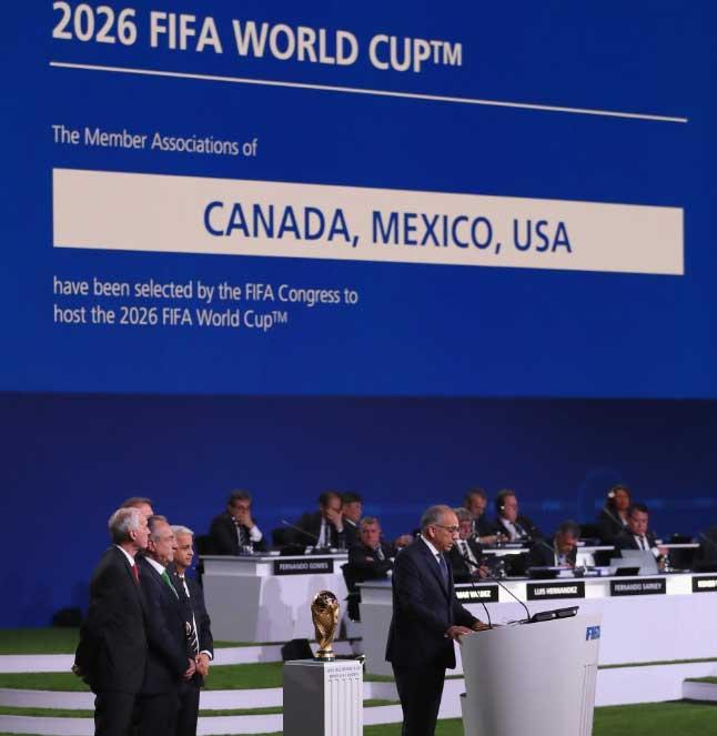 Trio AS, Kanada dan Meksiko Tuan Rumah Piala Dunia 2026