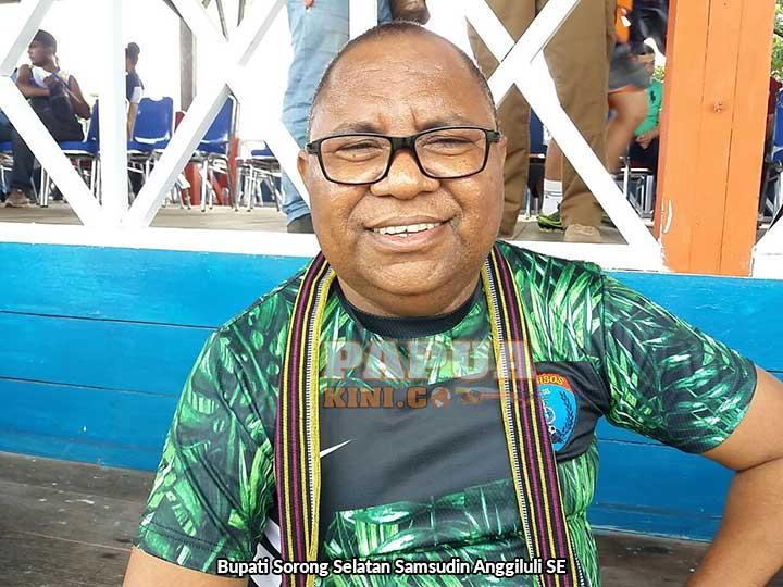 Bupati Sorsel Target Persisos Raih Piala Gubernur Papua Barat