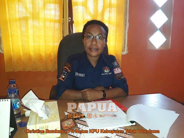Ketua KPU Teluk Wondama Mengundurkan Diri