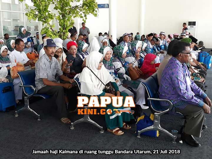 35 Jemaah Haji Bertolak dari Kaimana