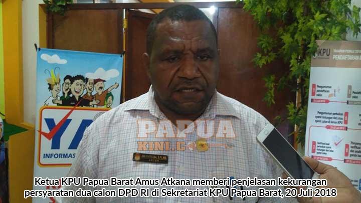 Pelantikan Satu Komisioner Terpilih Manokwari Ditunda