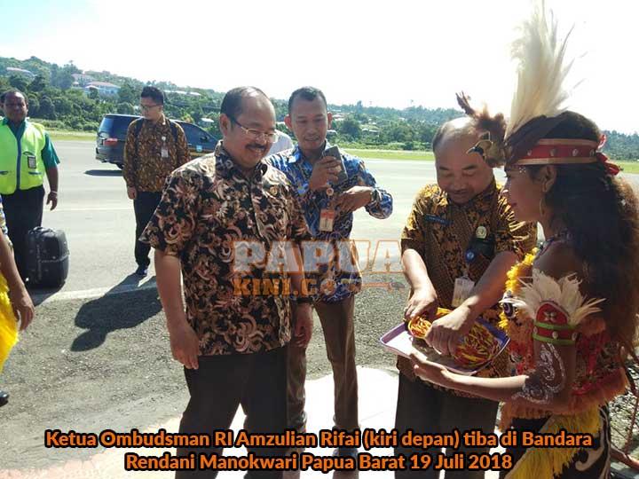 Ketua Ombudsman RI Minta Pelayanan Publik Papua Barat Optimal