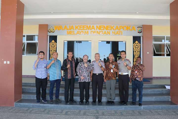 Ketua Ombudsman RI Apresiasi Command Center Polda Papua Barat
