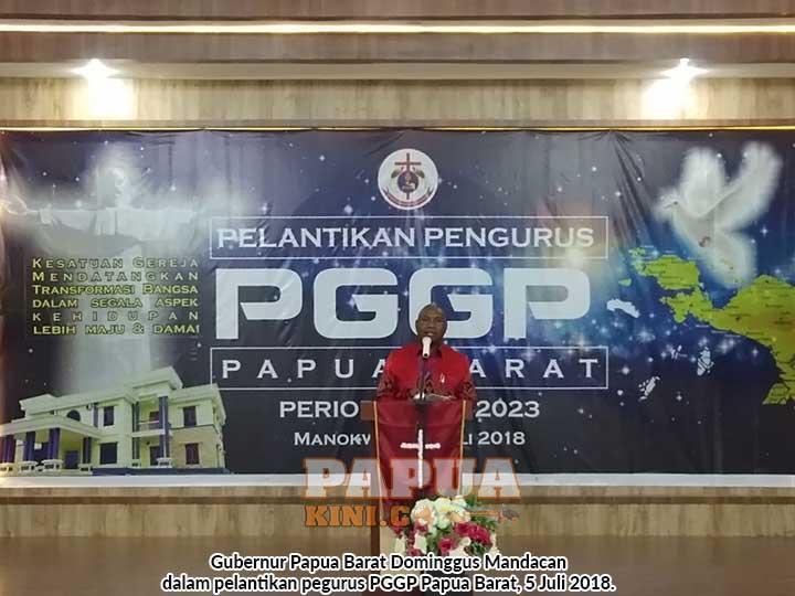 Gubernur Mandacan Ingatkan Anak Papua Masih Dalam Jebakan