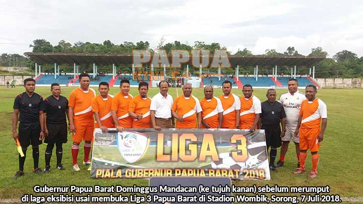 Sembilan Tim Bertarung Juara Liga 3 Papua Barat 2018