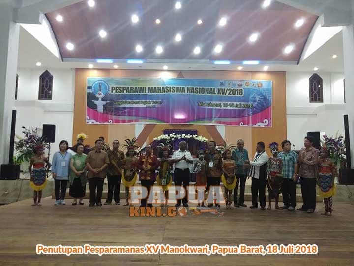 Tabuh Tifa, Gubernur Papua Barat Tutup Pesparamanas XV