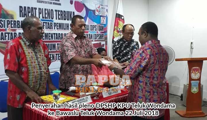 DPSHP Teluk Wondama Tambah 1341 Pemilih