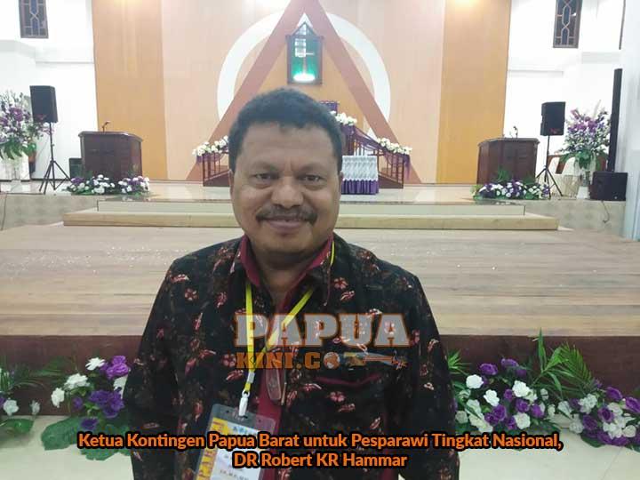 LPPD Papua Barat Ingin Yang Terbaik di Pesparawi Nasional Pontianak