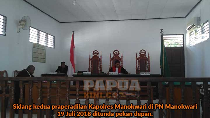 Kapolres Mangkir, Sidang Praperadilan Tunda Lagi