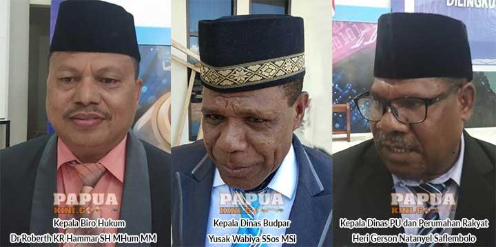 Ini Langkah 3 Pimpinan Baru OPD Papua Barat Pasca Pelantikan
