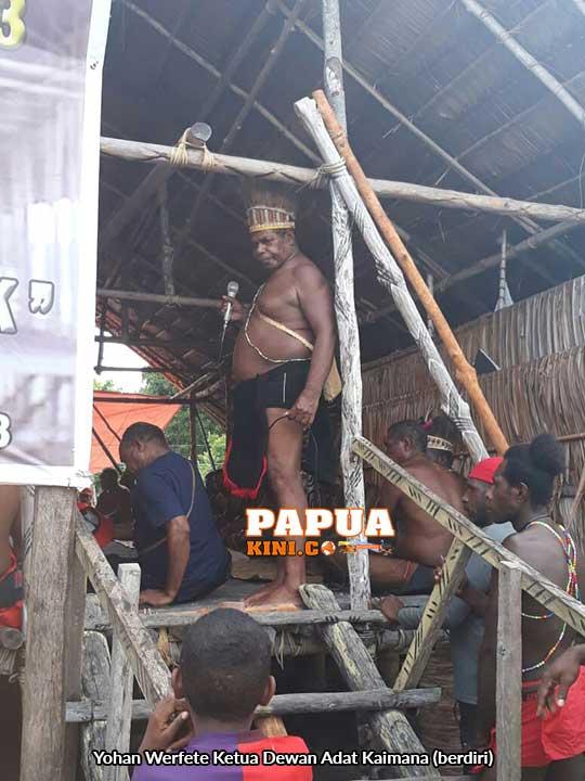 Musda Pemetaan Wilayah Adat Kaimana Tunggu Pelantikan Tiga Kepala Suku