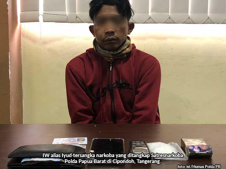 Polda PB Gagalkan Penyelundupan Sabu Sabu Tangerang-Sorong