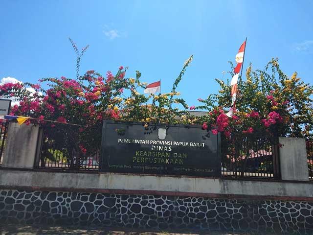 4 Tahun 8 Bulan Dinas Kearsipan dan Perpustakaan Papua Barat Tanpa Listrik
