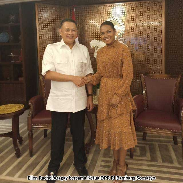 Ellen Aragay Wakili Indonesia di New Delhi, Minta Restu Masyarakat Gubernur Papua Barat