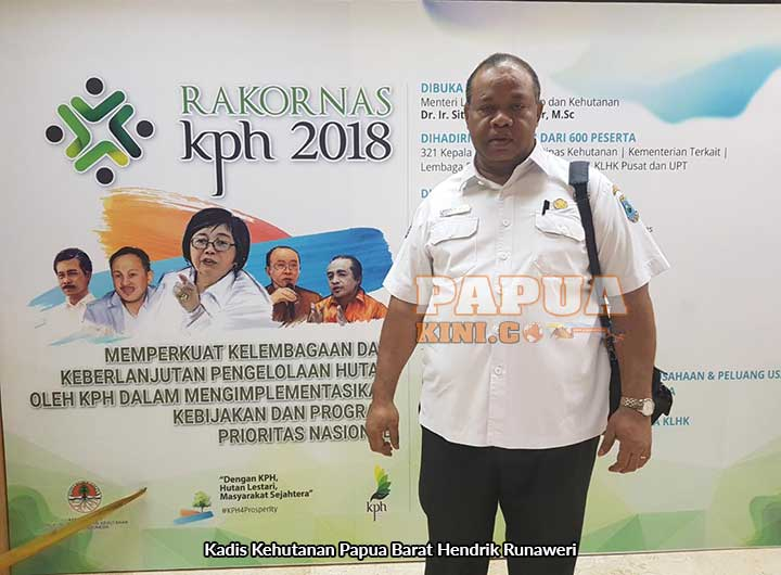 Papua Barat Siap Bentuk KPH