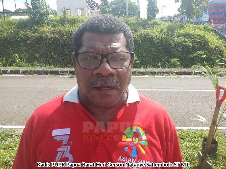 Proyek 5 M Jalan ke KPU Papua Barat Sudah Ditender
