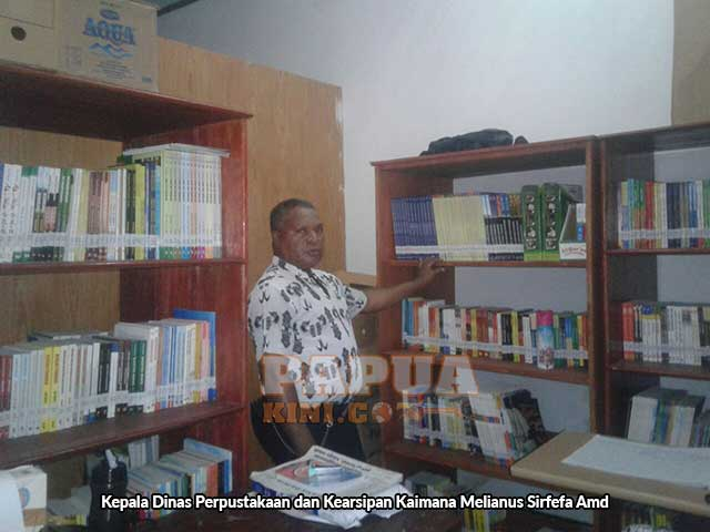 Bantuan Dinas Kearsipan dan Perpustakaan Papua Barat ke Kaimana Diduga Bermasalah