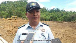 Kepala LPKA Manokwari Papua Barat Yulius Paath