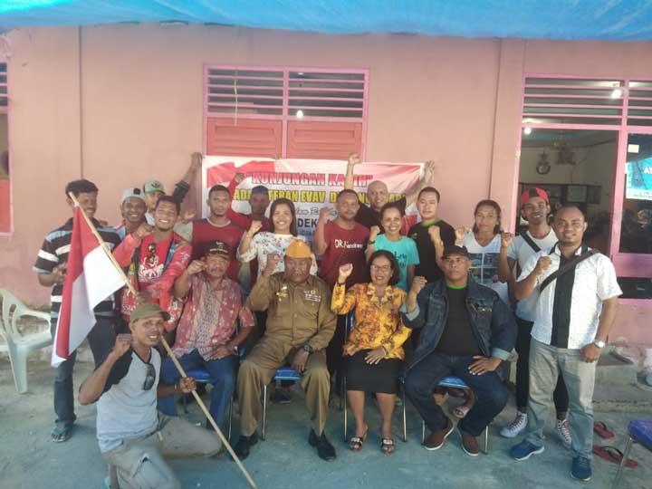Jelang HUT RI Pemuda Kei Kunjungan Kasih ke Veteran