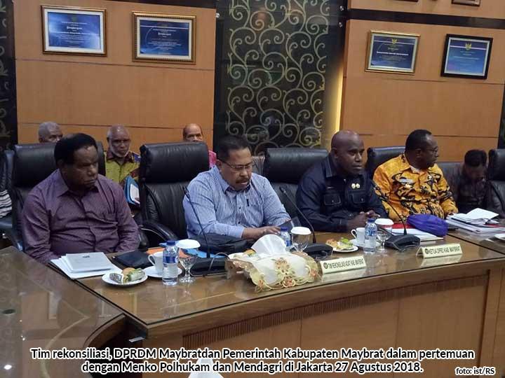 Tim rekonsiliasi Maybrat Ketua DPRD dan Bupati Maybrat