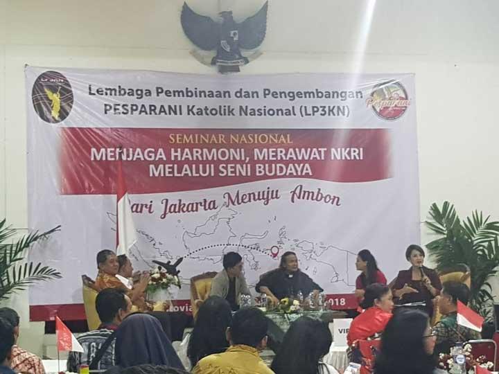 Menteri Agama Jadi Pembicara Seminar Pesparani Nasional