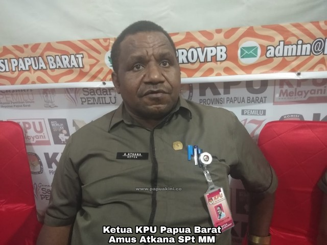 DPT Papua Barat Tertunda Karena Internet