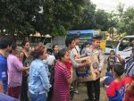 230 Juta Bantuan Kemanusiaan Polda Papua Barat untuk Bencana Lombok Tersalurkan